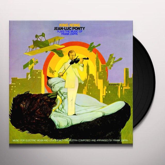 Jean-Luc Ponty KING KONG: PONTY PLAYS THE MUSIC OF FRANK ZAPPA Vinyl Record
