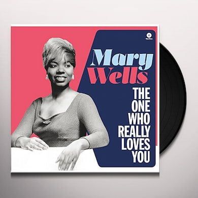 Mary Wells ONE WHO REALLY LOVES YOU Vinyl Record - Spain Release