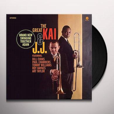 J. J. Johnson & Kai Winding GREAT KAI & J. J. Vinyl Record - Spain Release