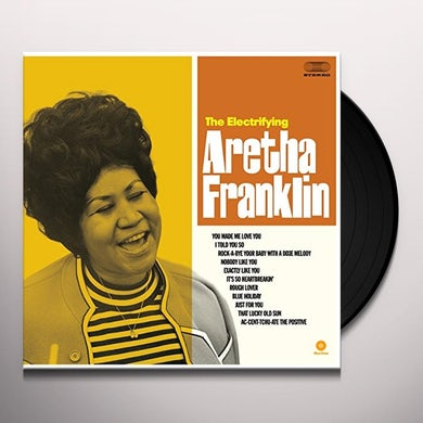 ELECTRIFYING ARETHA FRANKLIN Vinyl Record - Spain Release
