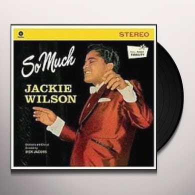 Jackie Wilson SO MUCH Vinyl Record - Spain Release