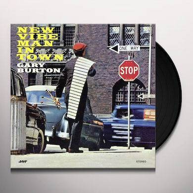 NEW VIBE MAN IN TOWN Vinyl Record