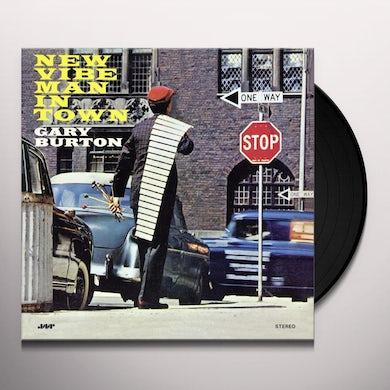 Gary Burton NEW VIBE MAN IN TOWN Vinyl Record