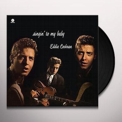Eddie Cochran SINGIN' TO MY BABY Vinyl Record - Spain Release