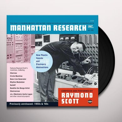 Raymond Scott MANHATTAN RESEARCH Vinyl Record