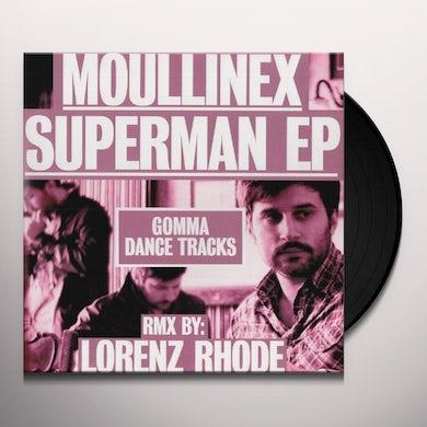Moullinex SUPERMAN (LORENZ RHODE REMIX) (GER) Vinyl Record