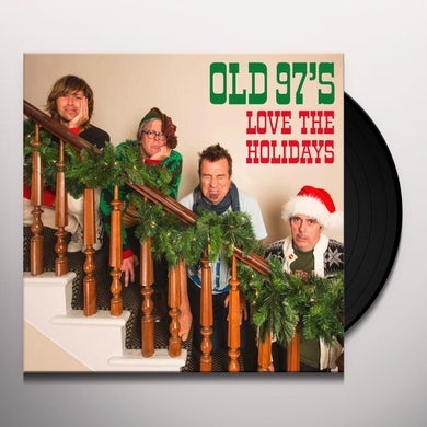 Old 97's Love The Holidays (LP)(Red/White Swirl) Vinyl Record