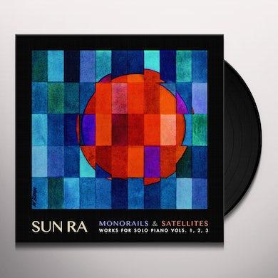 MONORSun RaILS & SATELITES: WORKS FOR SOLO PIANO V. 1-3 Vinyl Record