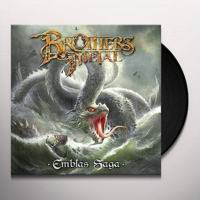 Brothers Of Metal EMBLAS SAGA (CLEAR VINYL) Vinyl Record