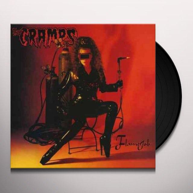 The Cramps FLAMEJOB Vinyl Record