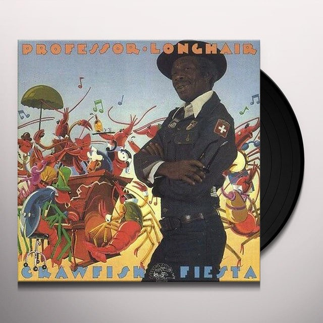 Professor Longhair CRAWFISH FIESTA Vinyl Record