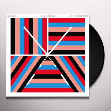 Touche Amore 10 YEARS / 1000 SHOWS - LIVE AT THE REGENT THEATER Vinyl Record