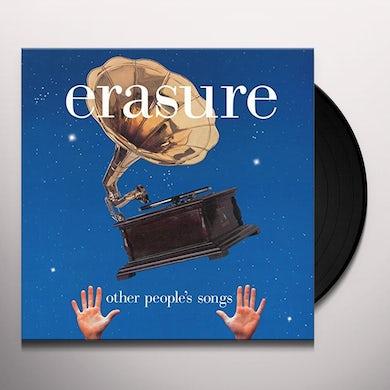Erasure OTHER PEOPLE'S SONGS Vinyl Record