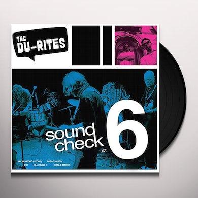 Du-Rites SOUND CHECK AT 6 (RECORDED LIVE!) Vinyl Record