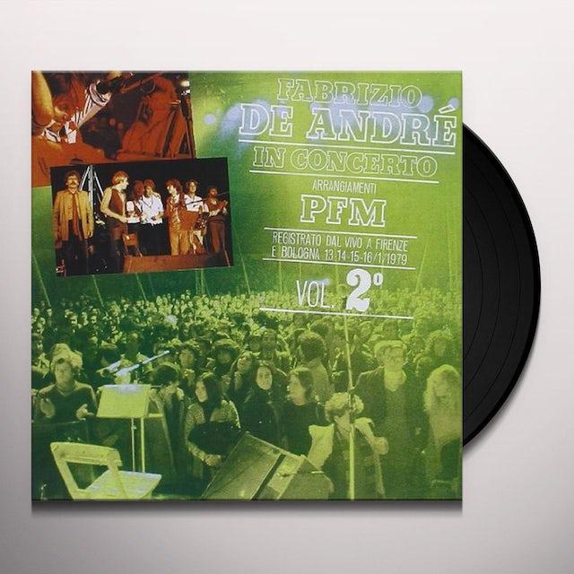 Fabrizio De Andre ARRANGIAMENTI PFM VOL 2 Vinyl Record