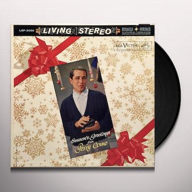Season's Greetings From Perry Como Vinyl Record