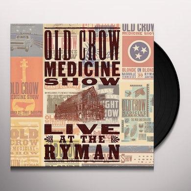 Old Crow Medicine Show LIVE AT THE RYMAN Vinyl Record