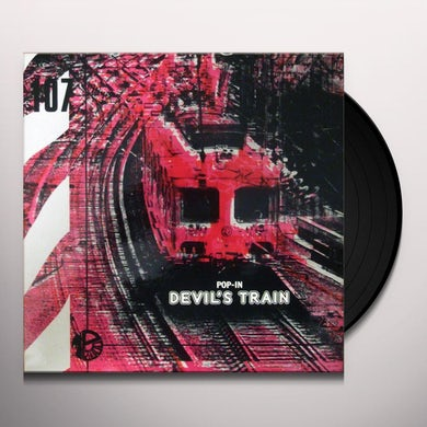 Jacky Giordano POP-IN DEVIL'S TRAIN Vinyl Record