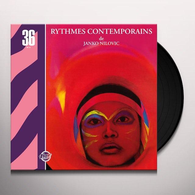 Janko Nilovic RYTHMES CONTEMPORAINS Vinyl Record