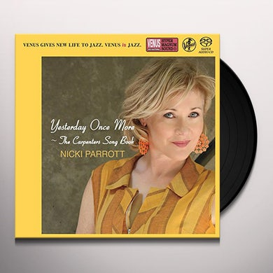 Nicki Parrott YESTERDAY ONCE MORE: CARPENTERS SONG Vinyl Record