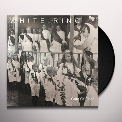 White Ring GATE OF GRIEF Vinyl Record