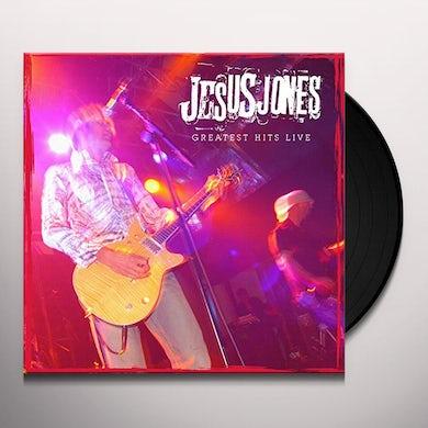 Jesus Jones GREATEST HITS LIVE Vinyl Record