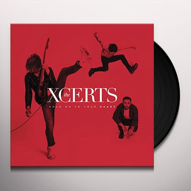 The XCERTS HOLD ON TO YOUR HEART Vinyl Record
