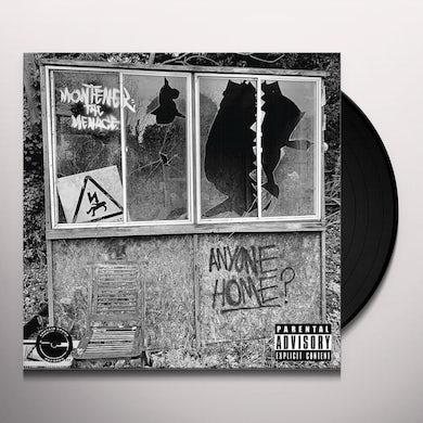 Montener The Menace ANYONE HOME Vinyl Record