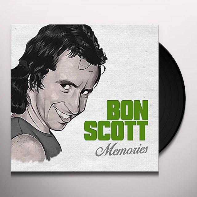 Bon Scott MEMORIES Vinyl Record