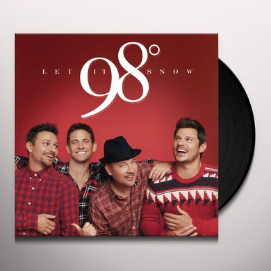 98 Degrees LET IT SNOW Vinyl Record