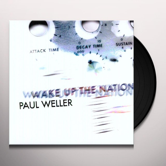 Paul Weller WAKE UP THE NATION Vinyl Record