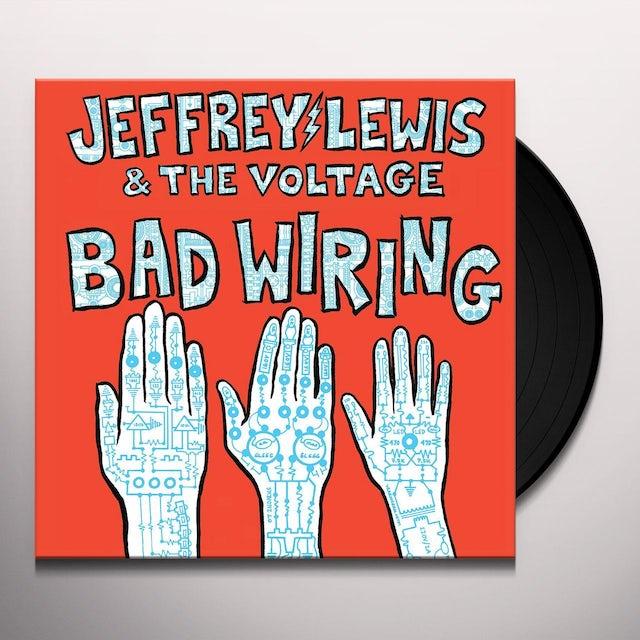 Jeffrey Lewis BAD WIRING Vinyl Record