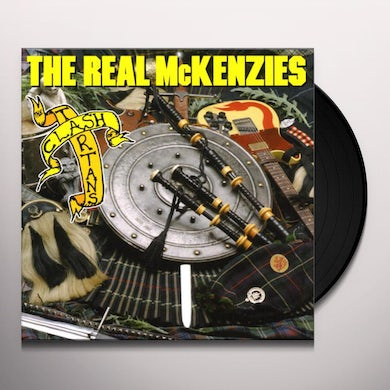 The Real McKenzies CLASH OF THE TARTANS Vinyl Record
