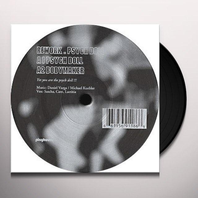 Rework PSYCH DOLL Vinyl Record