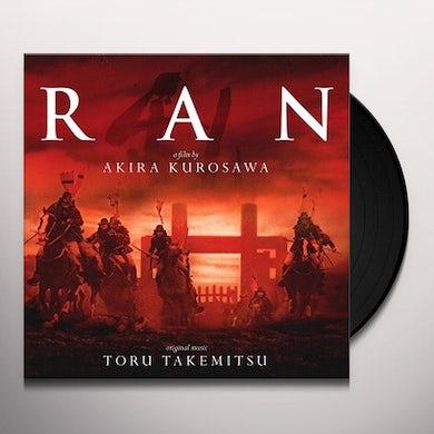 Toru Takemitsu RAN / Original Soundtrack Vinyl Record