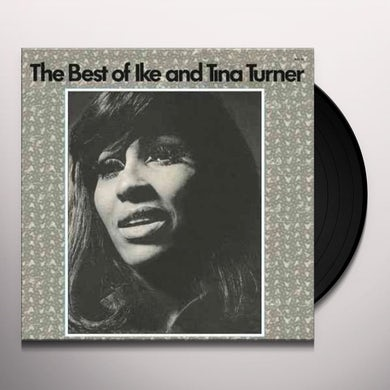 Ike & Tina Turner BEST OF Vinyl Record