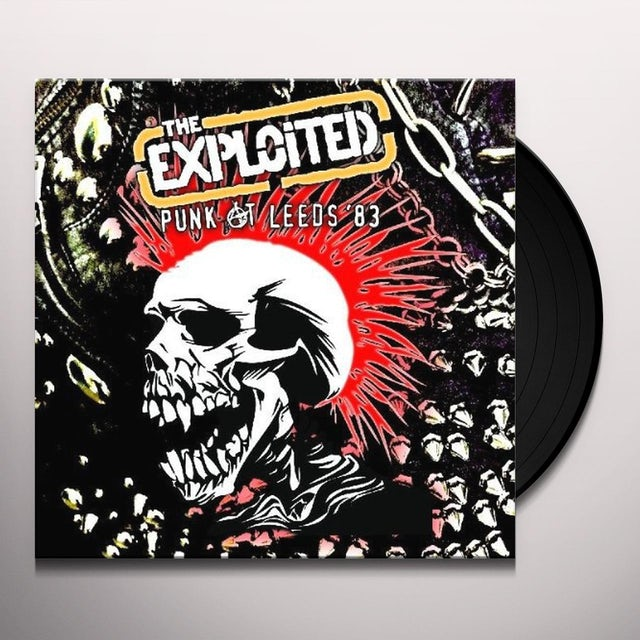 The Exploited PUNK AT LEEDS 83 Vinyl Record - Limited Edition