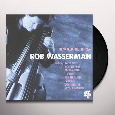 Rob Wasserman DUETS Vinyl Record