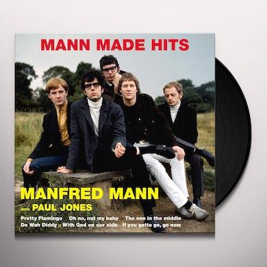 Manfred Mann  MANN MADE HITS Vinyl Record