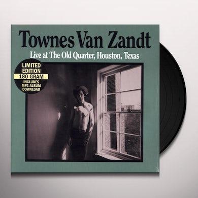 Townes Van Zandt LIVE AT THE OLD QUARTER Vinyl Record