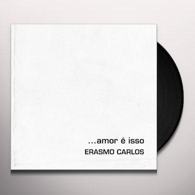 Erasmo Carlos AMOR E ISSO Vinyl Record