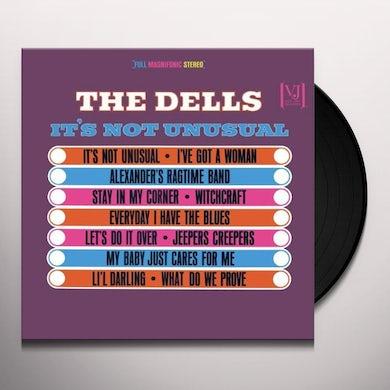 Dells IT'S NOT UNUSUAL Vinyl Record