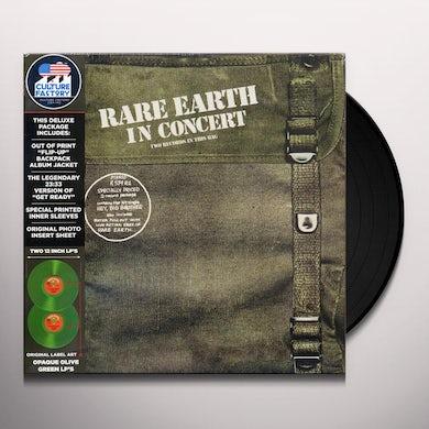 Rare Earth IN CONCERT Vinyl Record