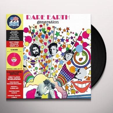 Rare Earth Generation (OST) Vinyl Record