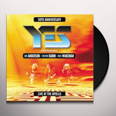 Yes LIVE AT THE APOLLO Vinyl Record