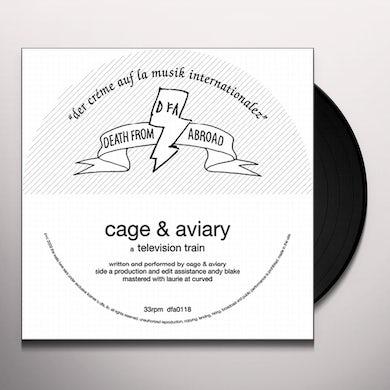 Cage & Aviary TELEVISION TRAIN Vinyl Record
