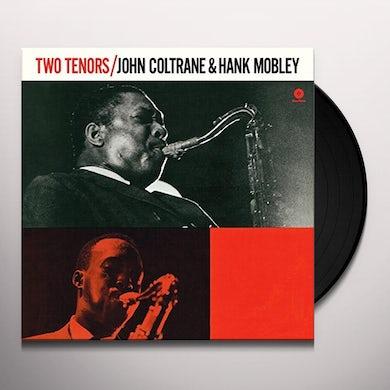 John Coltrane / Hank Mobley TWO TENORS Vinyl Record - Spain Release