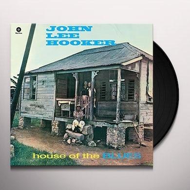 John Lee Hooker HOUSE OF THE BLUES Vinyl Record - 180 Gram Pressing, Spain Release