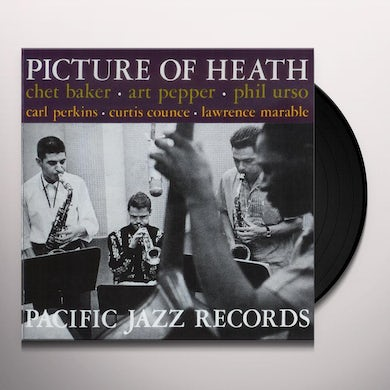 Chet Baker|Art Pepper PICTURE OF HEATH Vinyl Record - Spain Release