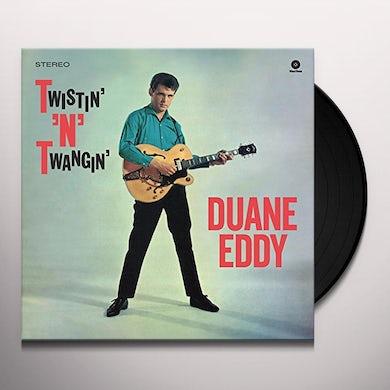 Duane Eddy TWISTIN' N' TWANGIN' Vinyl Record - Spain Release